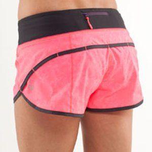 Size 2 - Lululemon Run: Speed Short